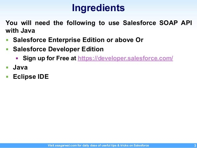 Step-By-Step Guide To Get Started With Salesforce SOAP API Using Java…
