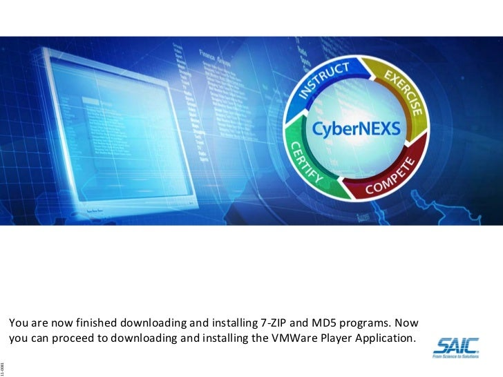 Step2 download and load 7-zip and win mds applications