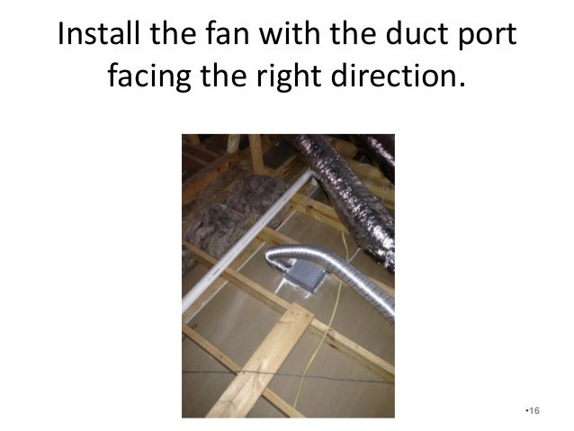 Fresh Air Ventilation Step 2 Of The Seven Steps Of