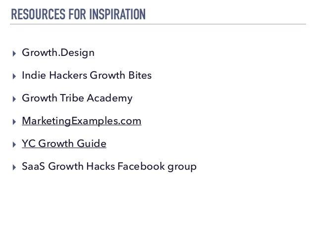 STEP 2020: Growth Hacking Workshop