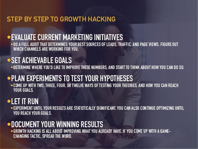 •PICK THE RIGHT SET OF METRICS • PICK A LEADING INDICATOR OF REVENUE AND REPEAT BEHAVIOR. DON'T PICK A VANITY METRIC (LIKE...