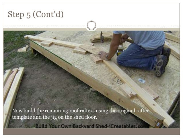 4 how to build shed roof rafters - A brief guide to a durable roof ...
