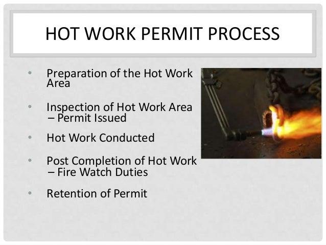 Step 6 Hot Work Permit