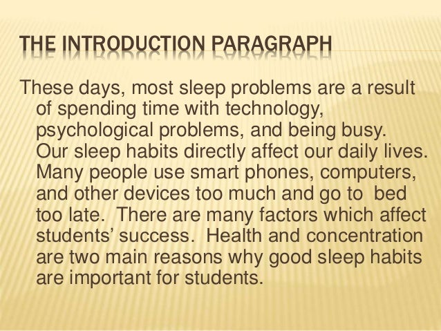 sleep is the most important thing