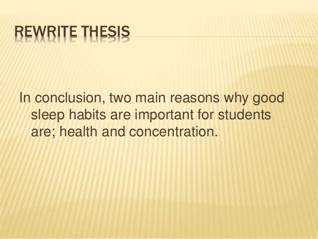 sleeping late at night as factor affecting the academic essay Free essay: sleeping is something that is an essential  sleep deprivation among college students  students should not make it a habit to stay up late at night.
