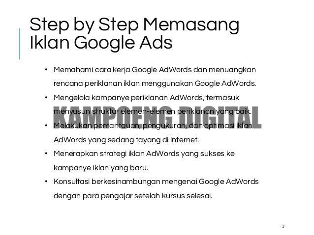 15+ Cara Membuat Iklan Di Google Ads mudah