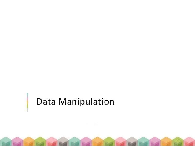 Data Manipulation 51