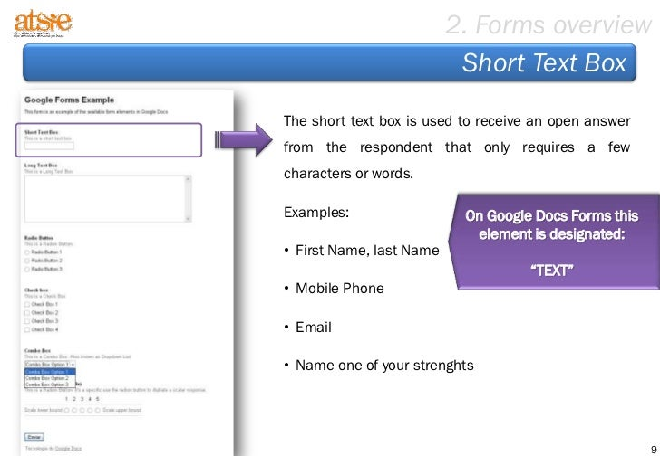 Step By Step To Create A Form Based On Google Docs