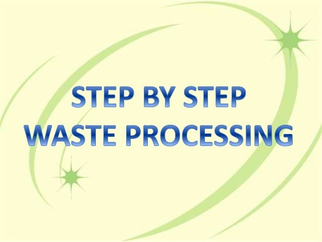 STEP BY STEP  /   ETE PROCESSI