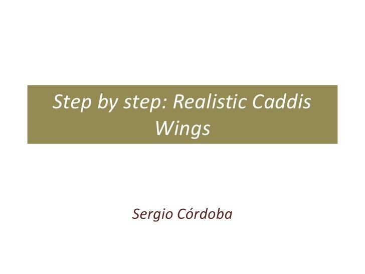 Step by step: Realistic Caddis Wings<br />Sergio Córdoba<br />