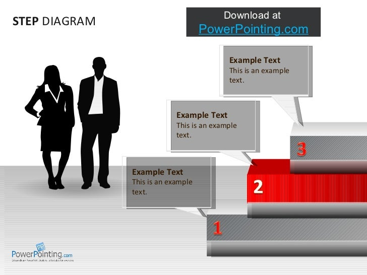 STEP  DIAGRAM Example Text This is an example text.  Example Text This is an example text.  Example Text This is an exampl...