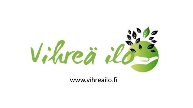 www.vihreailo.fi