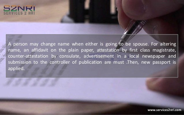 how to change legal name on passport
