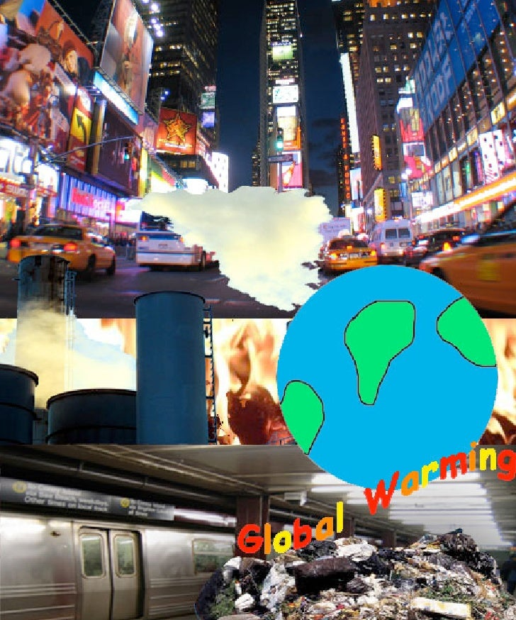 Stephan's Global Warming Collage Project