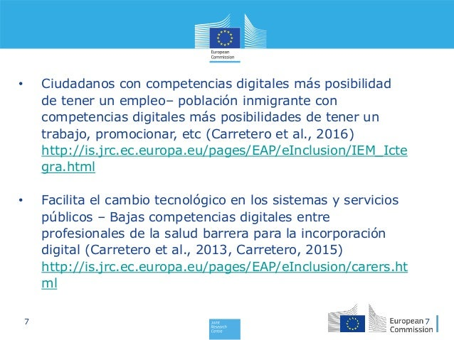 Stephanie Carretero: DigComp: Marco Europeo de Competencias Digitales…