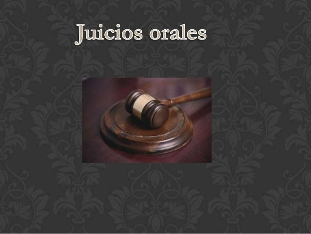 El procedimiento oral es un proceso que seimplemento en México a partir del primer defebrero del 2007 en las materias fami...