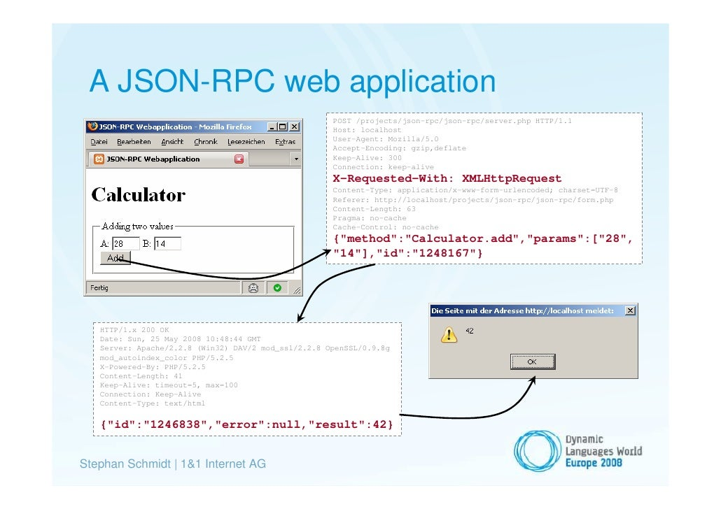 HTTP Headers and Common Query String Parameters for JSON