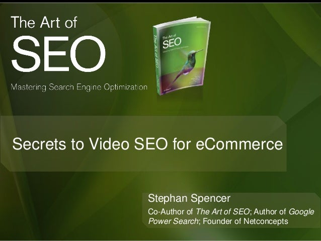 insider secrets to video seo for ecommerce sites