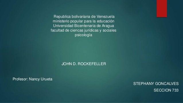 Republica bolivariana de Venezuela ministerio popular para la educación Universidad Bicentenaria de Aragua facultad de cie...