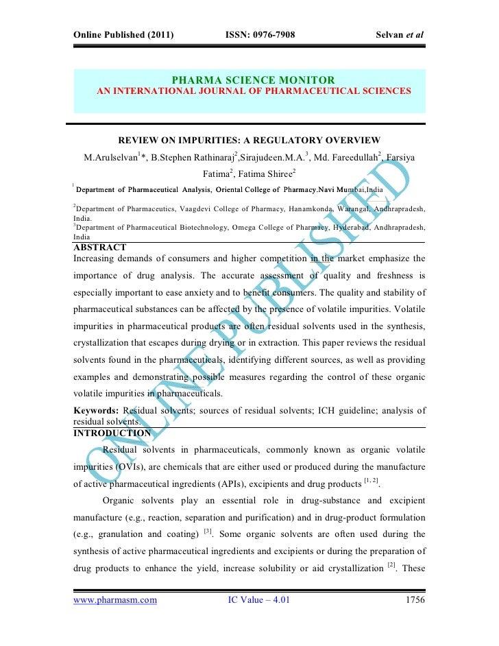 Online Published (2011)                         ISSN: 0976-7908                        Selvan et al                       ...