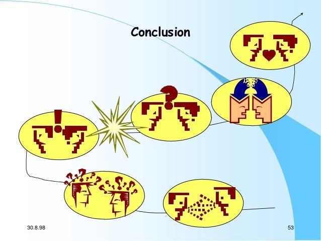 Conclusion  30.8.98  53