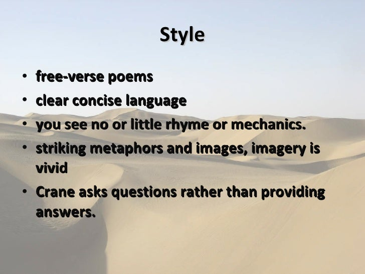 Stephen Crane Poems 6
