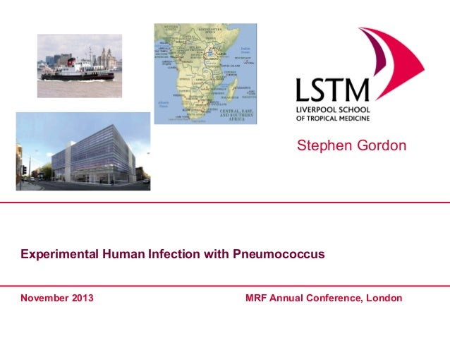 Stephen Gordon  Experimental Human Infection with Pneumococcus  November 2013  MRF Annual Conference, London