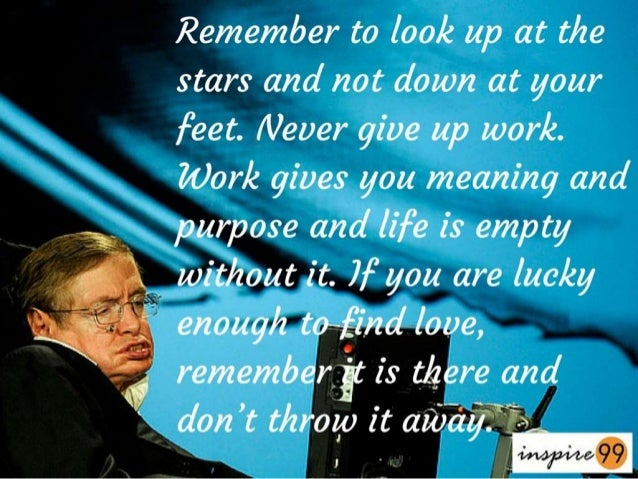 Stephen Hawking 9 Solid Quotes To Perfection
