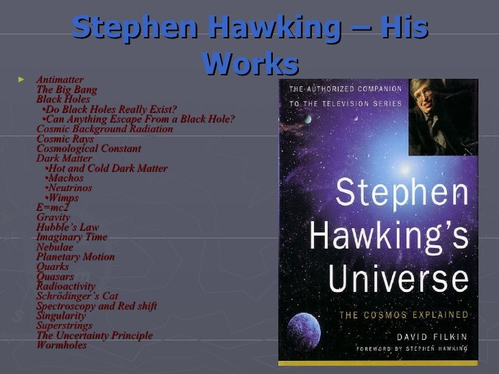 Stephen hawking biography, facts and pictures.