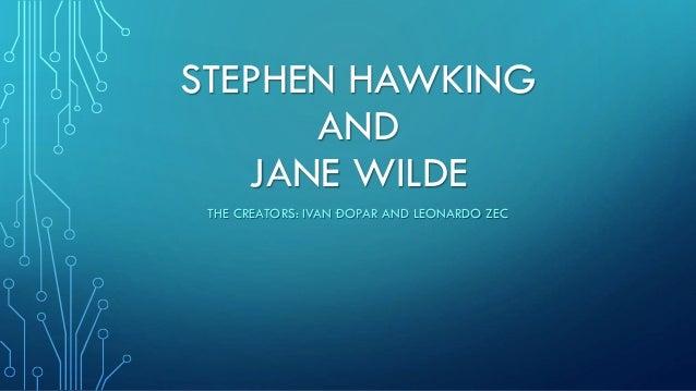 Hawking jane divorce stephen wilde Books: Stephen