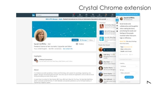 Crystal Chrome extension