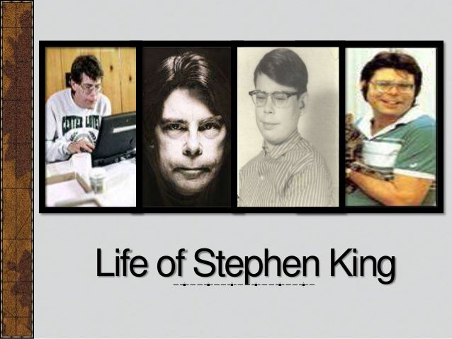 an analysis of the works of stephen king Literary analysis of stephen king's the stand essays trashcan man english 10 honors 2/28/10 mrs borrego stand together, stand strong people behave strangely when more than ninety-nine.