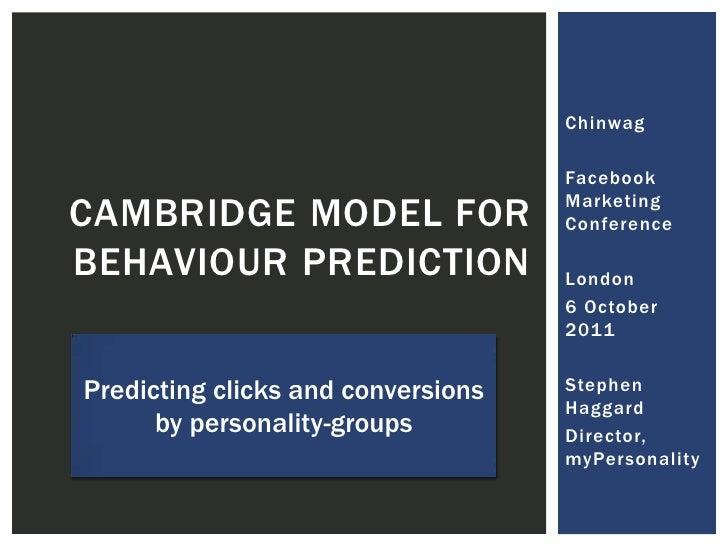 Chinwag<br />Facebook Marketing Conference<br />London<br />6 October 2011<br />Stephen Haggard<br />Director, myPersonali...