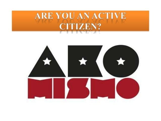 Citizenship- Active Citizenship Coursework