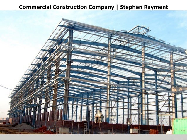 Commercial Construction Company | Stephen Rayment