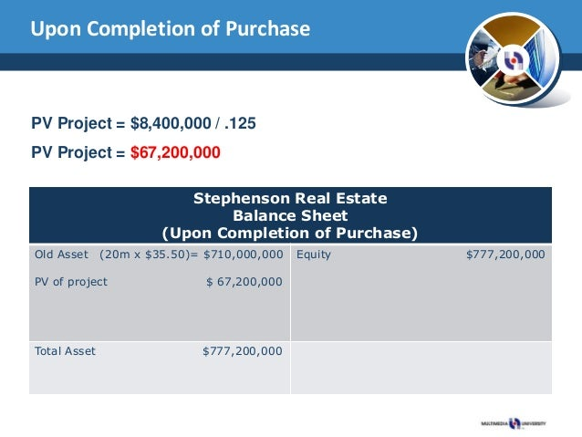 stephenson real estate recapitalization case study Free essay: bus650: managerial finance chapter 14 closing case professor:  darrell early october 8, 2011 1 if stephenson wishes to.