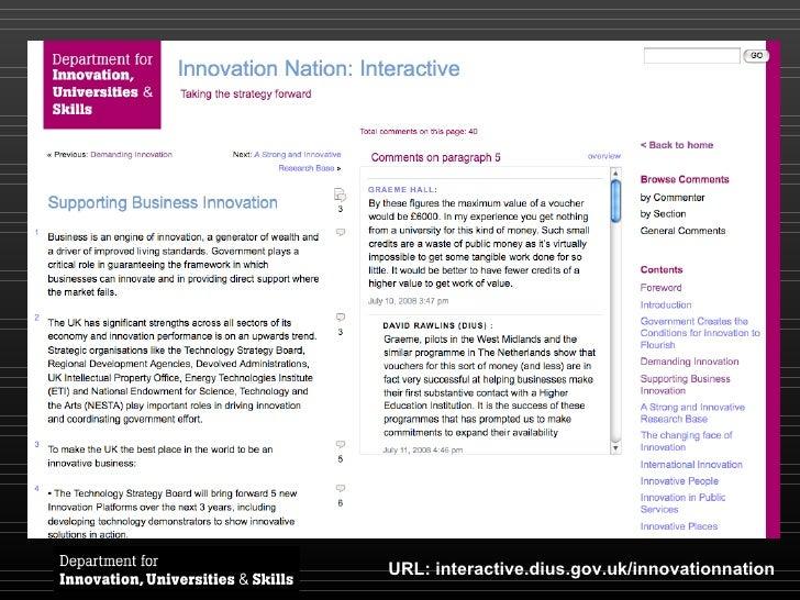 URL: interactive.dius.gov.uk/innovationnation