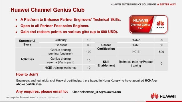 Create New Value for You - Huawei Professional Services