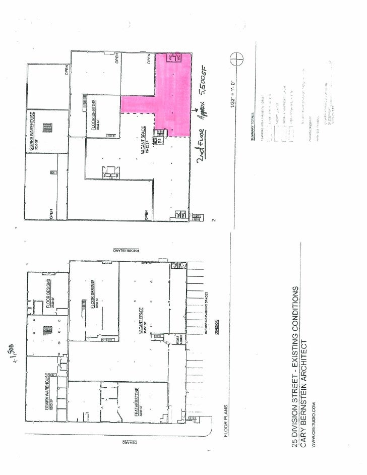 25 Division St.Floorplan
