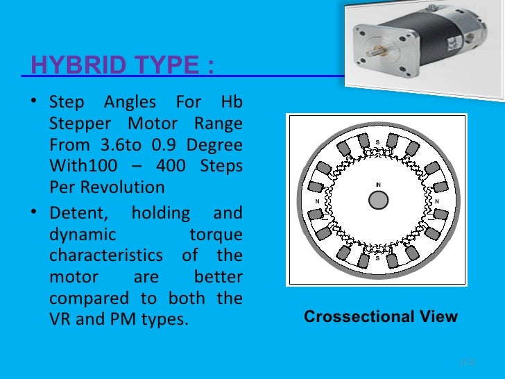 Slide On Stepper Motor