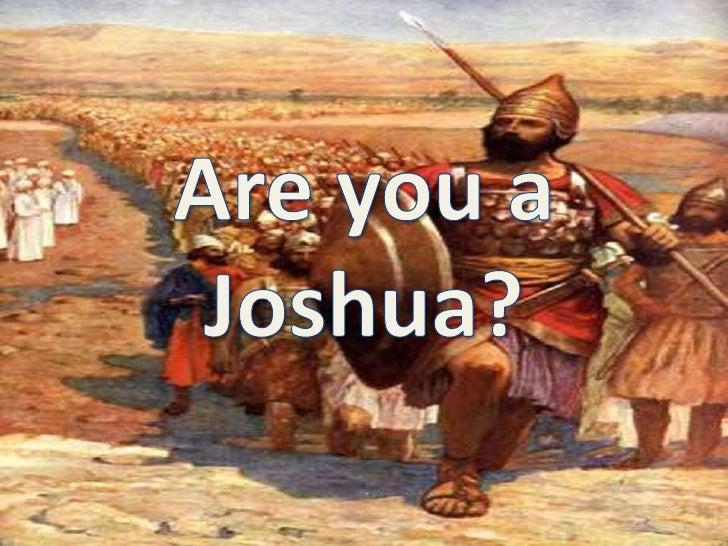 Are you a Joshua?<br />