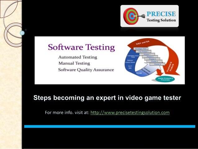 vido game tester