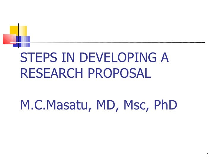 10 Steps to Writing an Academic Research Proposal