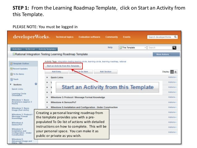 Steps For Creating A Personal Learning Roadmap - Learning roadmap template