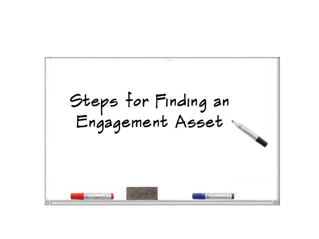Steps for Finding an Engagement Asset