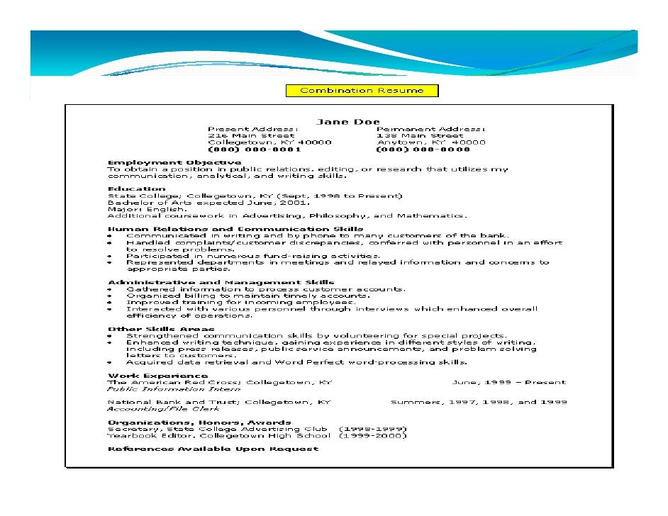 Steps for job application