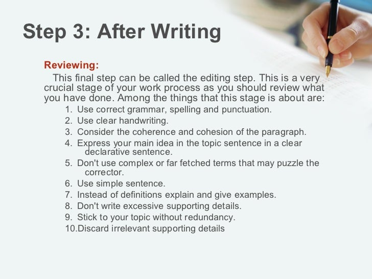 5 paragraph essay step by step Step by step process of writing the 5 paragraph essay.