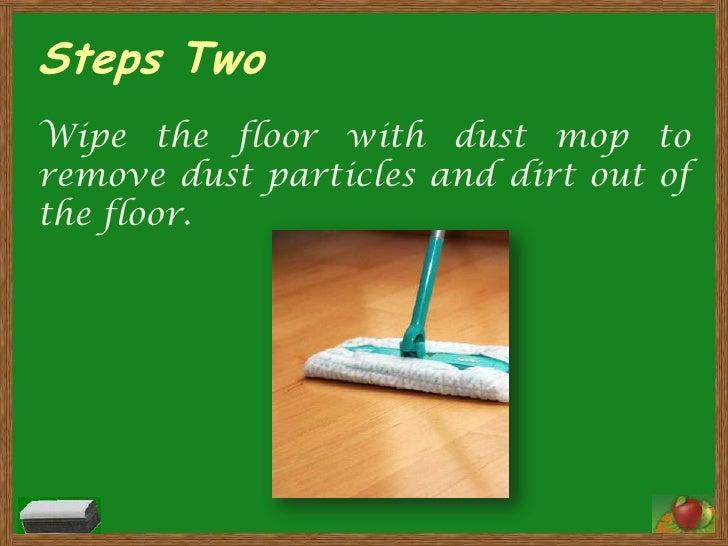 Steps In Cleaning Floors Using Vinegar And White Vinegar