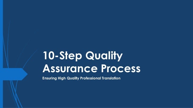 Steps in translation process Slide 2