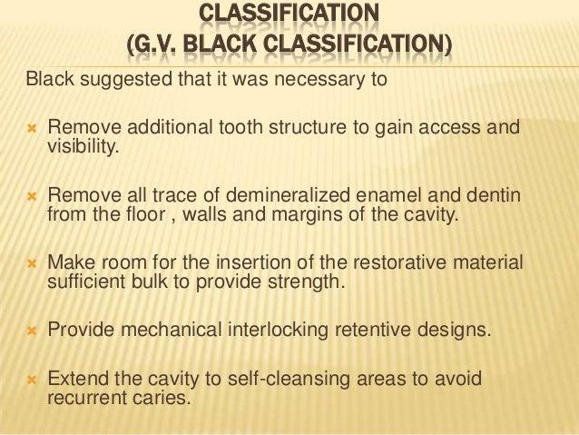 Steps Of Cavity Preparation